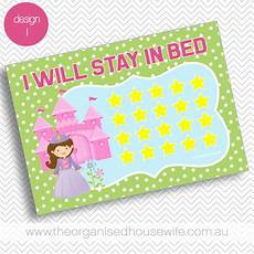 Stay In Bed Chart Printable I Will Stay In Bed Reward Chart The Organised Housewife Shop