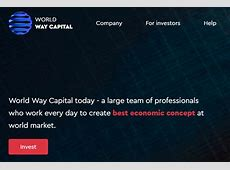 Way capital.com Review: Is World Way Capital a Scam or