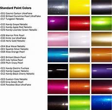 Green Car Paint Color Chart Automotive Paint Colors Quot Kustom Cola Netallic Quot Is My