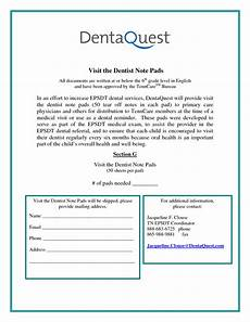 Dentist Excuse Note 27 Images Of Doctors Note Template For Dental Work Bfegy Com