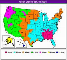 Fedex Zone Chart Shipping