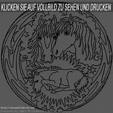 Malvorlagen Mandalas Pferde Mandala Pferde 1 Ausmalbilder