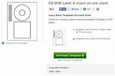 Avery Dvd Label Software Download Create Your Own Cd And Dvd Labels Using Free Ms Word Templates
