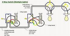 How To Wire A 3 Way Light Switch Electrical Engineering World 3 Way Switch Multiple Lights