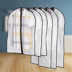 garment bags clear for coats 2019 clear hanging garment bags for closet dust proof