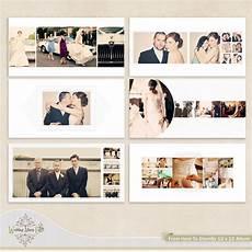 Wedding Album Design Templates Wedding Album Template For Photographers 35 00 Via Etsy
