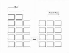 Cubicle Seating Chart Template Church Seating Plan Template Brokeasshome Com