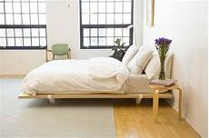 the floyd platform bed frame and parachutehome bedding