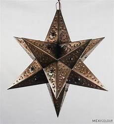 Moravian Tin Star Light Moravian Star Pierced Metal Tin Color Glass Marbles
