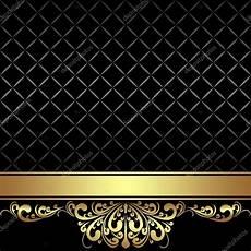 fondo elegante fundo preto elegante fita dourada e fronteira real
