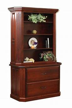 fifth avenue two drawer lateral file cabinet with hutch