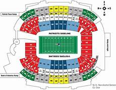 Gillette Stadium Soccer Seating Chart Gillette Stadium Seating Chart Touchdown Trips