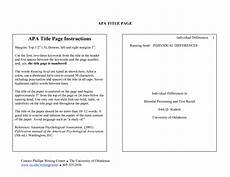 Apa Formatted Research Paper Apa Research Paper Section Headings The American