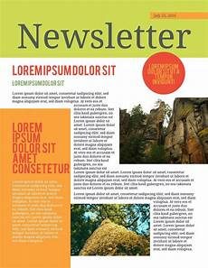 Newsletter Examples Free Printable Newsletter Templates Amp Examples Lucidpress