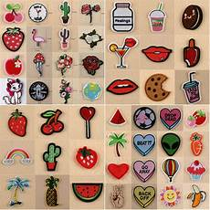 patches for clothes embroidered sew iron on patches badge fabric bag clothes