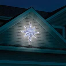 Led Lighted Star Of Bethlehem The Prismatic Star Of Bethlehem Light Show Hammacher