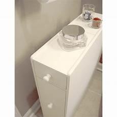 narrow bathroom storage cabinet slim space saving floor