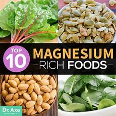 Magnesium Rich Foods Chart Top 10 Magnesium Rich Foods Plus Proven Benefits Dr Axe