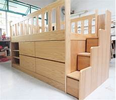 loft bed with storage custom furniture in singapore