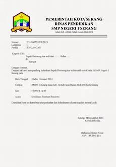 25 contoh undangan formal bahasa indonesia dan inggris