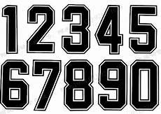 Basketball Font Basketball Jersey Number Font Jersey Font Number Fonts