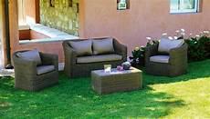 divanetti economici set divanetti in wicker set caracas divano 2 poltrone