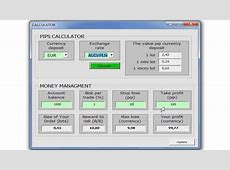 Forex Calculator   pips value and money management   YouTube