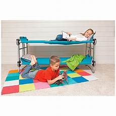 disc o bed youth kid o bunk portable bunk bed with