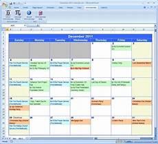 Excel Calendar Maker Document Moved