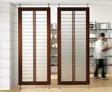 sliding transparent screen ikea room dividers with brown