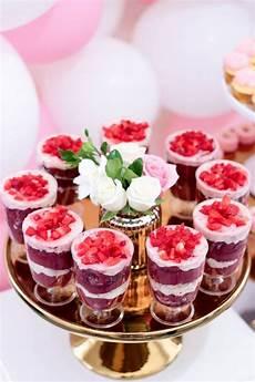 desserts for parties kara s ideas pink white gold garden kara