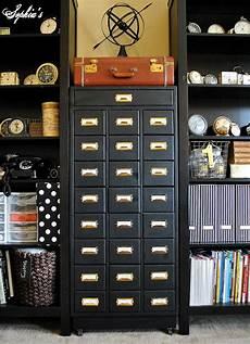 s organized craft cabinet
