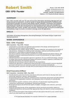 Ceo Resume Sample Doc Ceo Resume Samples Qwikresume