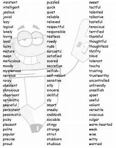 A List Of Characteristics Character Traits Welcome To Mrs Durocher S Classroom