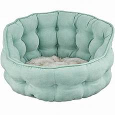 harmony tufted cat bed in seaglass petco