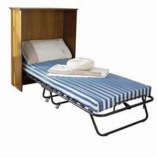 folding single guest bed 4 quot mattress sturdy frame
