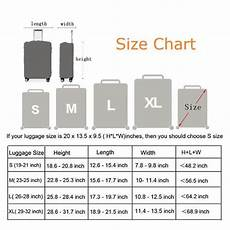 Delsey Luggage Size Chart Standard Luggage Suitcase Protective Cover Encompass Rl