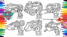 paw patrol vehicles coloring pages for how to