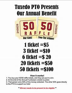 Raffle Ticket Fundraiser Ideas 50 50 Raffle Fundraiser Flyer Hla Pinterest