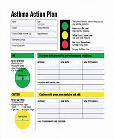 Asthma Action Plan Chart Free 47 Plan Examples In Pdf Word Pages Examples