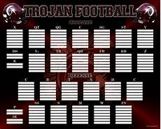 Printable Depth Charts 10 Football Depth Chart Template Excel Excel Templates