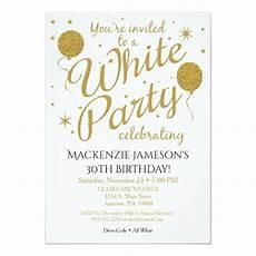 All White Party Invitations Templates White Party Invitation All White Party Invite Zazzle Com