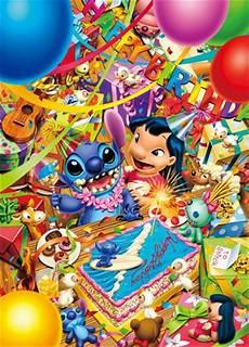 lilo and stitch stitches and happy birthday on