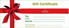 Examples Of Gift Cards 18 Gift Certificate Templates Excel Pdf Formats
