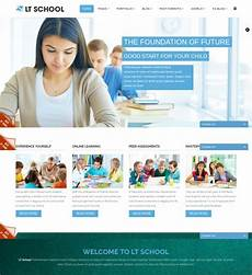 Online Education Templates Free Download 27 Free Education Website Themes Amp Templates Free