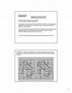 dispense topografia cartografia igm e cartografia catastale dispense