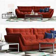 Sofa Seat 3d Image by Set Originel Large 4 Seat Sofa 3d Model For Vray