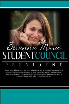 Student Council Poster Template Student Council Template Postermywall