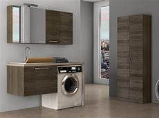 wall mounted laundry room cabinet with sink lavanderia 5