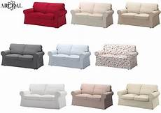 ikea ektorp cover two seat sofa in various colours